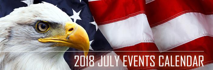 July Event Calendar 2018 San Diego