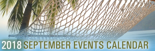 September 2018 Events Calendar | California Title Company